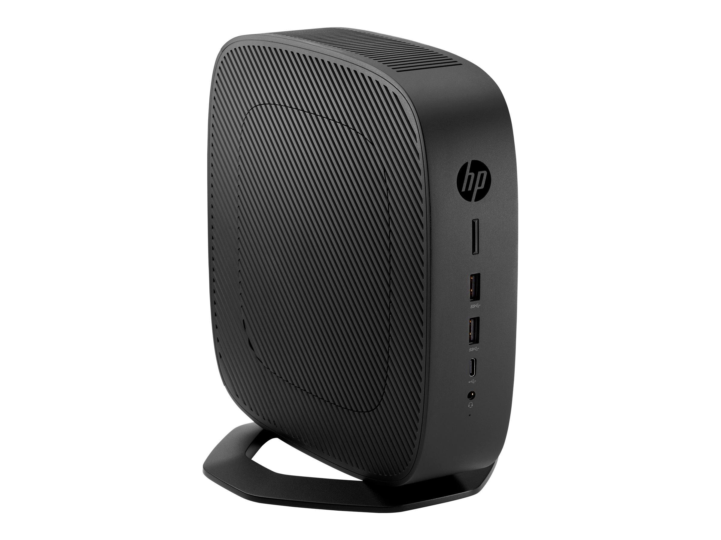 HP t740 - SFF - Ryzen Embedded V1756B 3.25 GHz - 8 GB - flash 16 GB - US