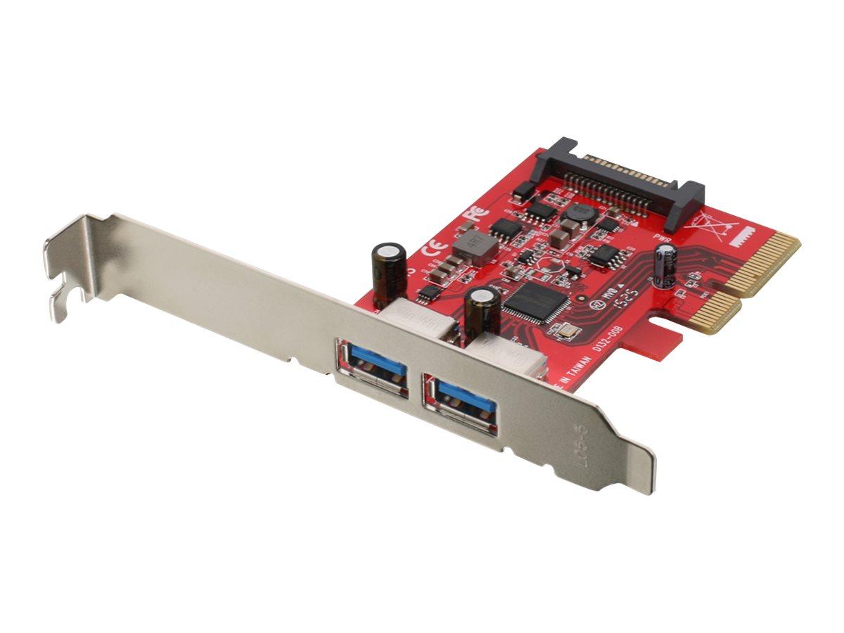 IOGEAR GIC3U2 - USB adapter - PCIe 3.0 x4 - USB 3.1 Gen 2 x 2