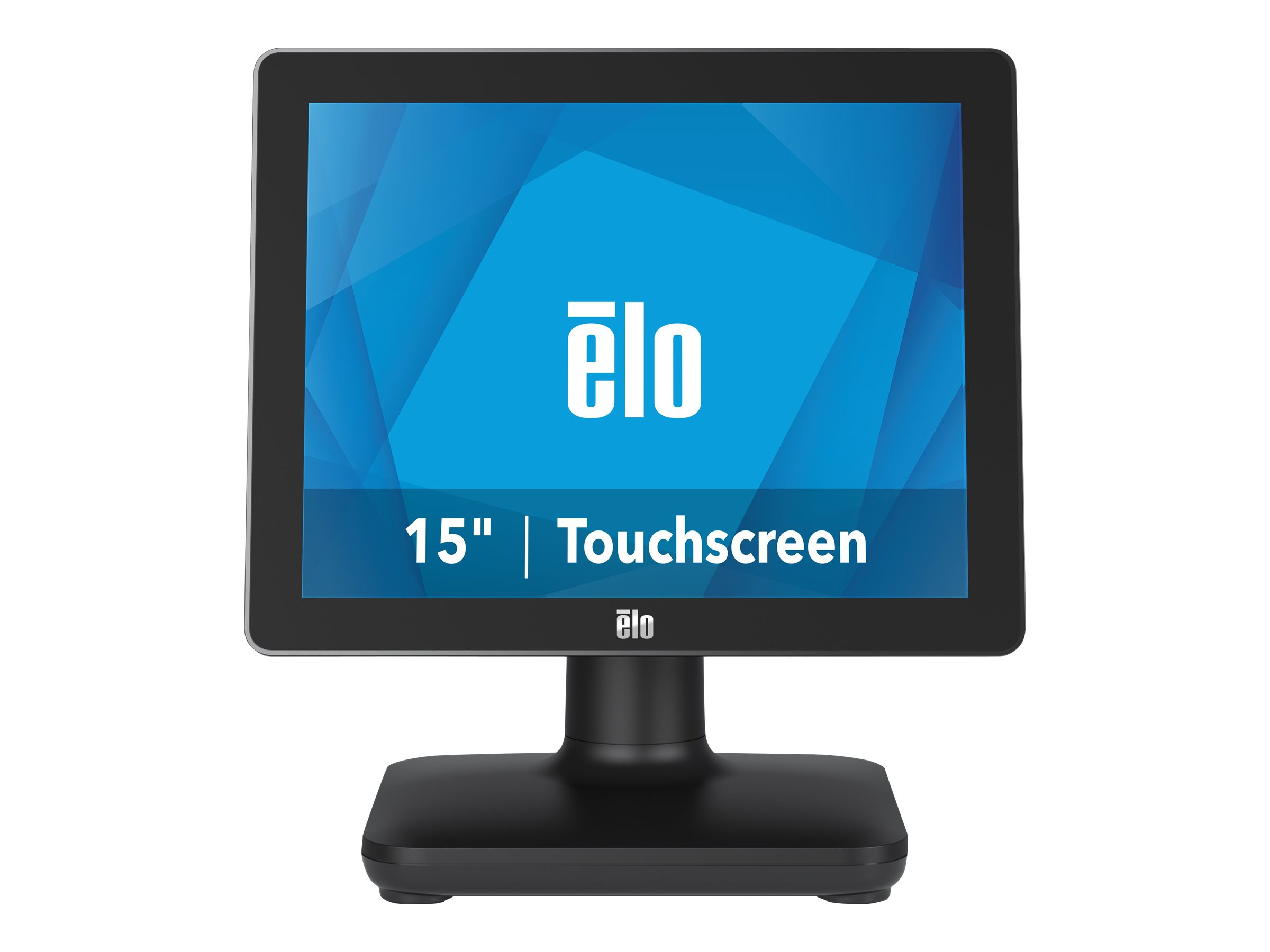EloPOS System - with I/O Hub Stand - all-in-one - Core i3 8100T 3.1 GHz - 4 GB - SSD 128 GB - LED 15