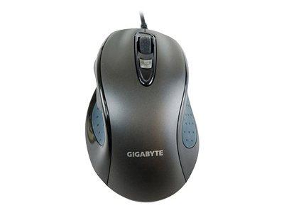 Gigabyte GM-M6800 - mouse - USB - noble black