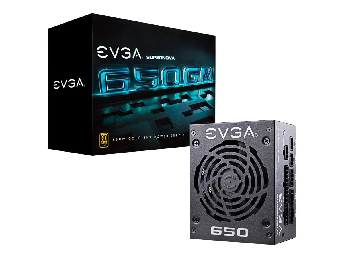 EVGA SuperNOVA 650 GM - power supply - 650 Watt