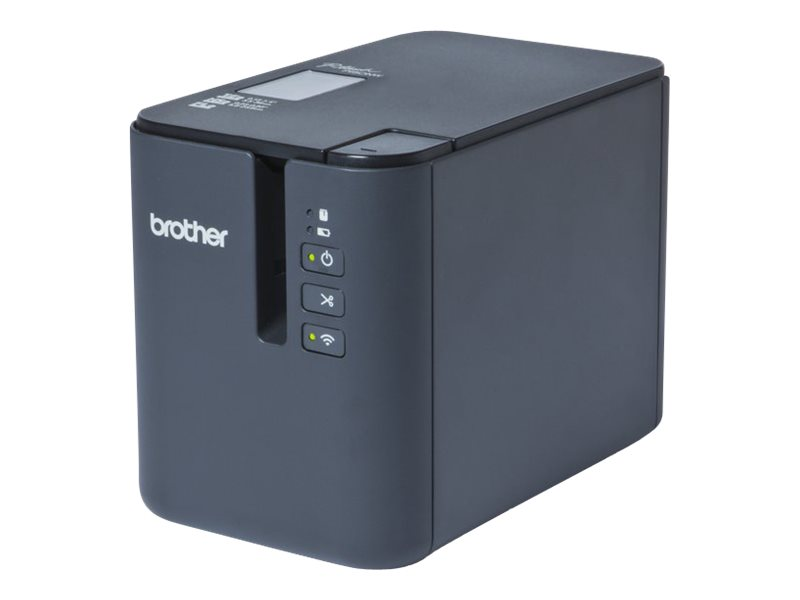 Brother P-Touch PT-P900W - label printer - B/W - thermal transfer