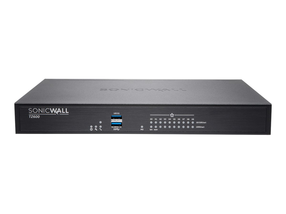 SonicWall TZ600P - security appliance - Secure Upgrade Plus