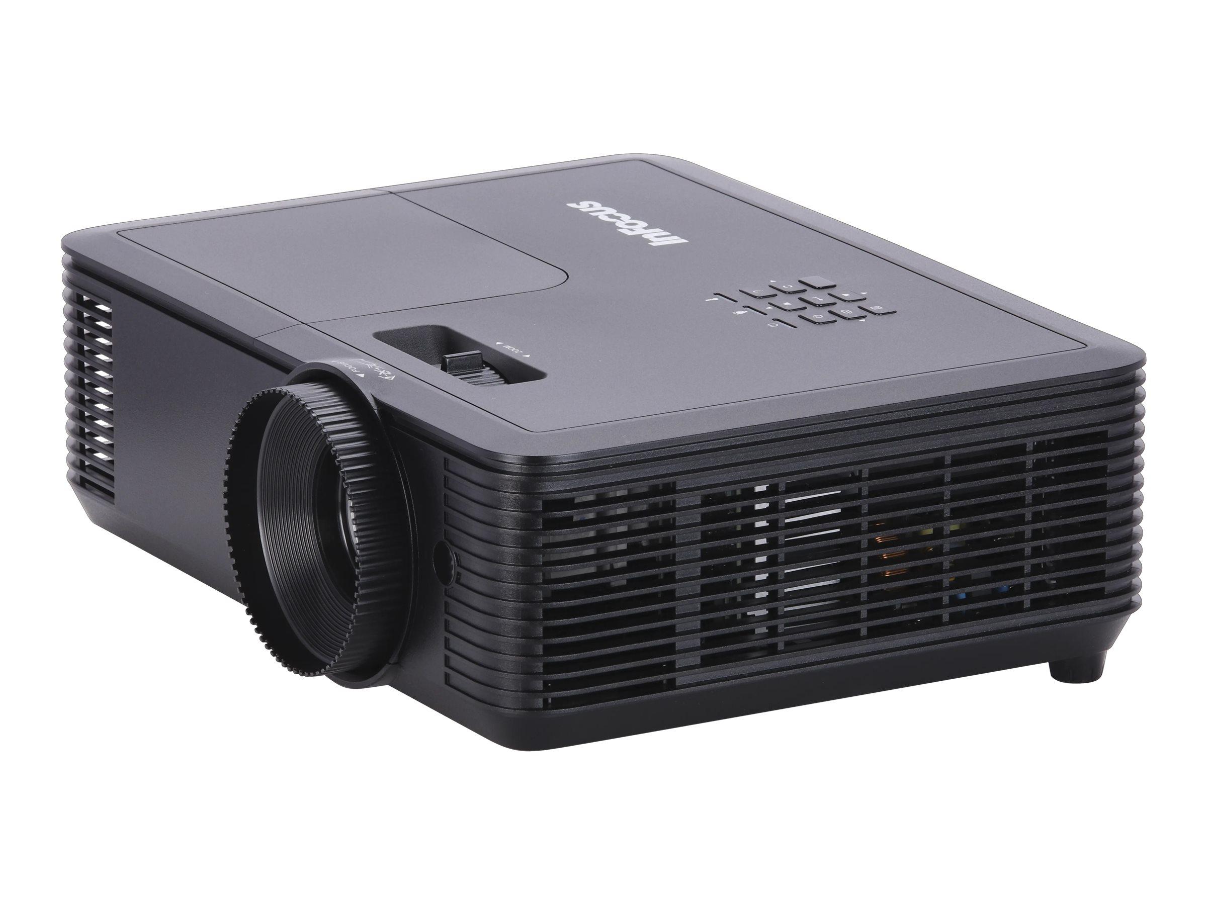 InFocus Genesis IN119BB - DLP projector - standard lens - portable - 3D