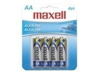 Maxell Gold LR6 battery - 4 x AA type - alkaline