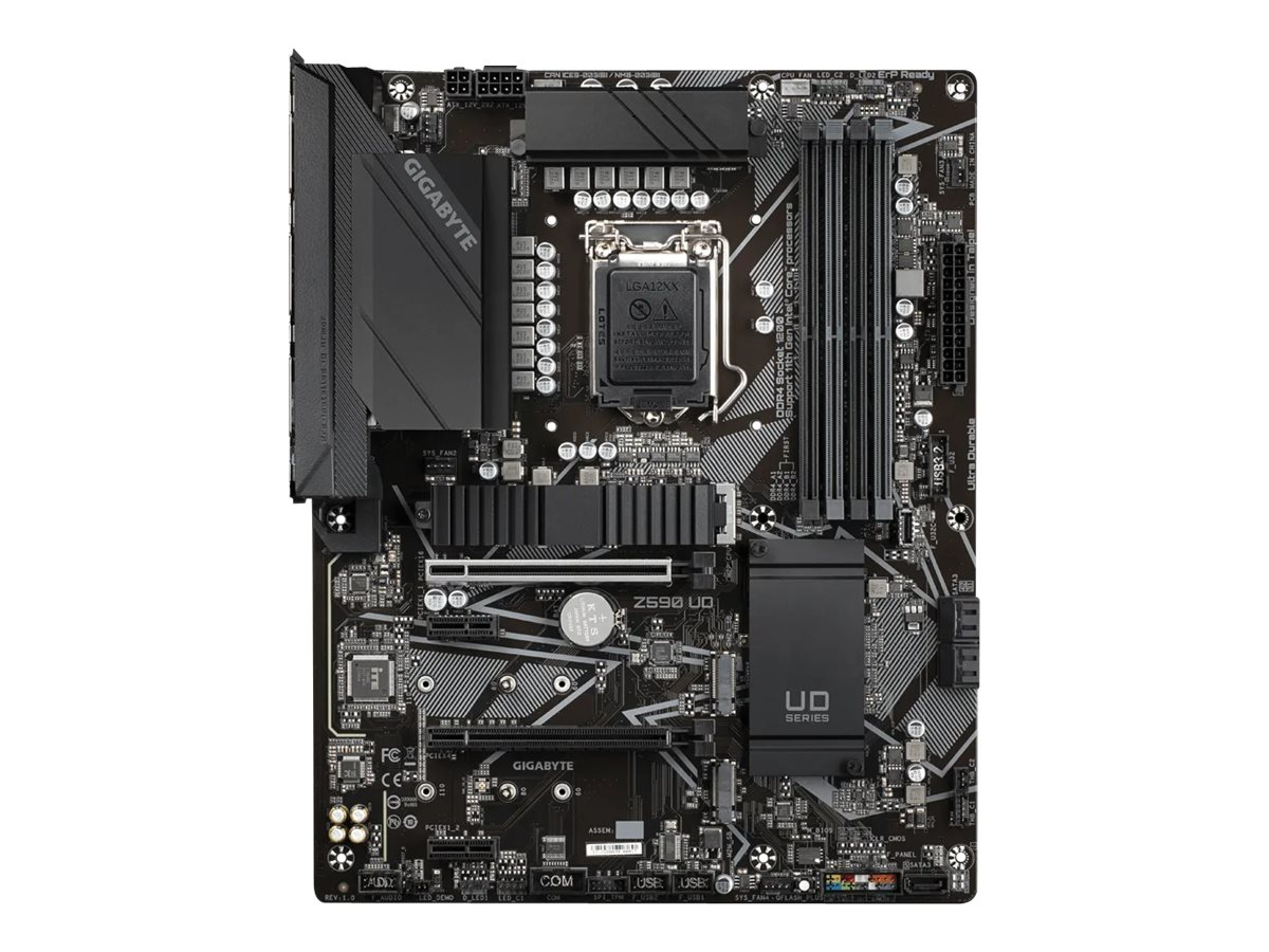 Gigabyte Z590 UD - 1.0 - motherboard - ATX - LGA1200 Socket - Z590