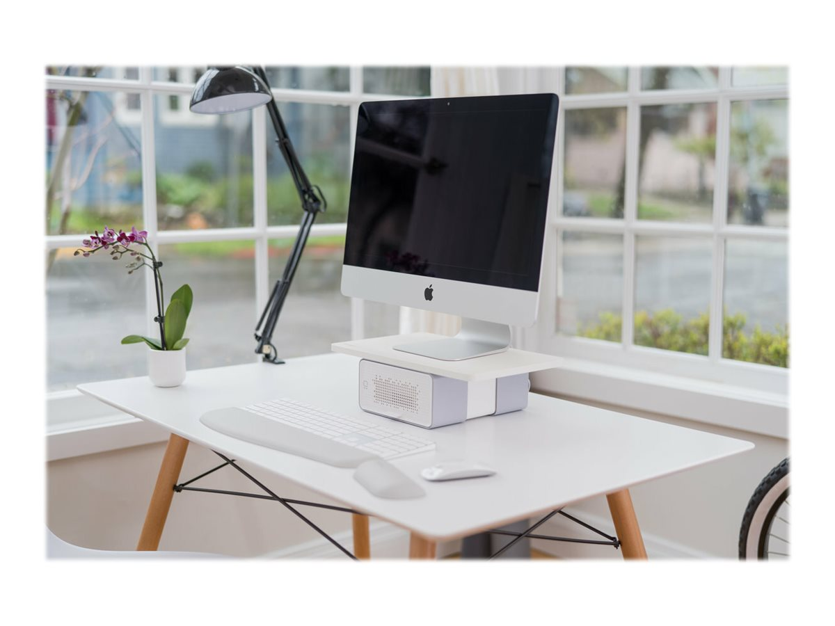 Kensington FreshView Wellness Monitor Stand with Air Purifier - monitor stand