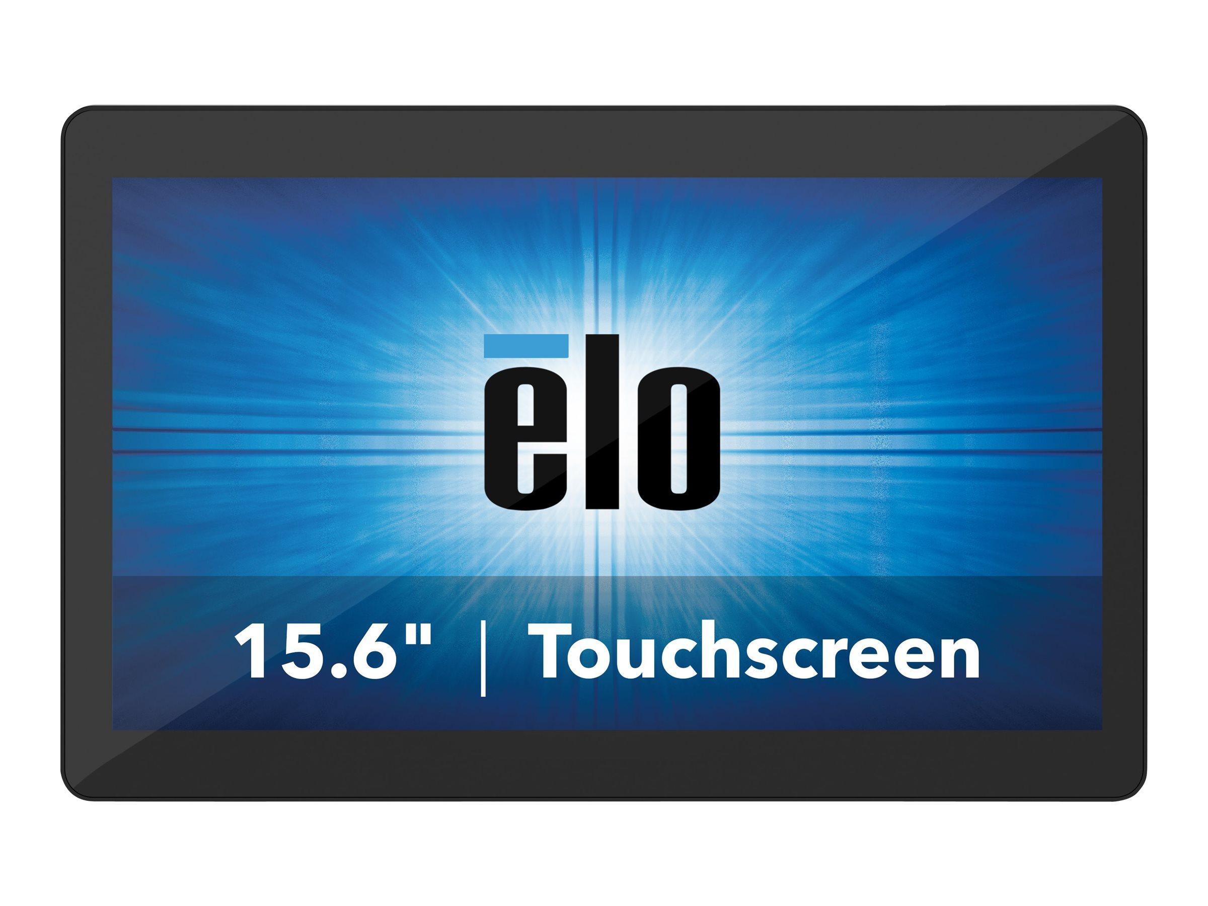 Elo I-Series 2.0 - all-in-one - Core i3 8100T 3.1 GHz - 8 GB - SSD 128 GB - LED 15.6