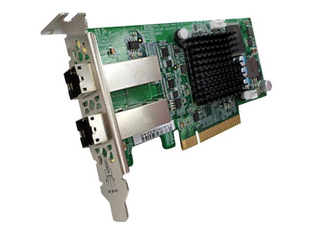 QNAP SAS-12G2E - storage controller - SAS 12Gb/s