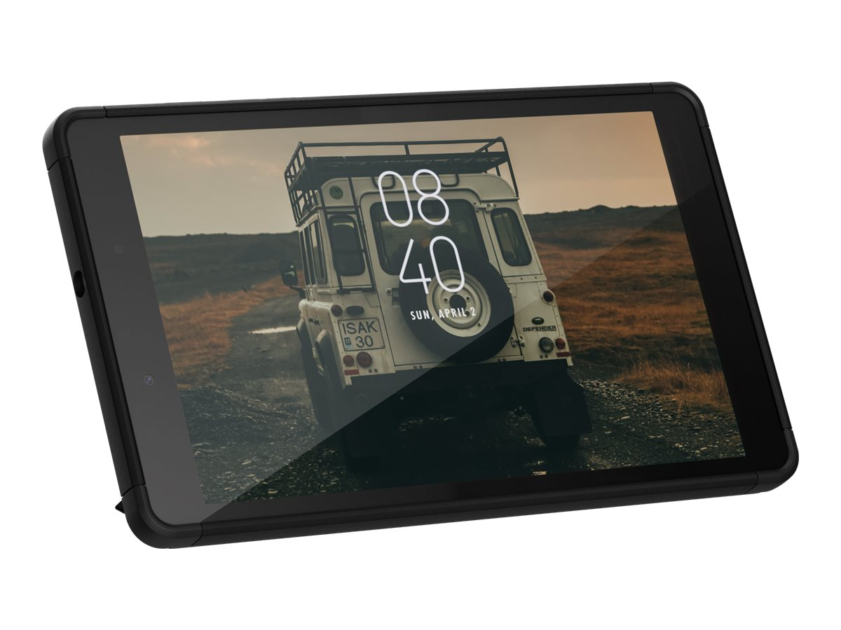 UAG Rugged Case w/ Kickstand for Samsung Galaxy Tab 10.1 - Scout Black - back cover for tablet