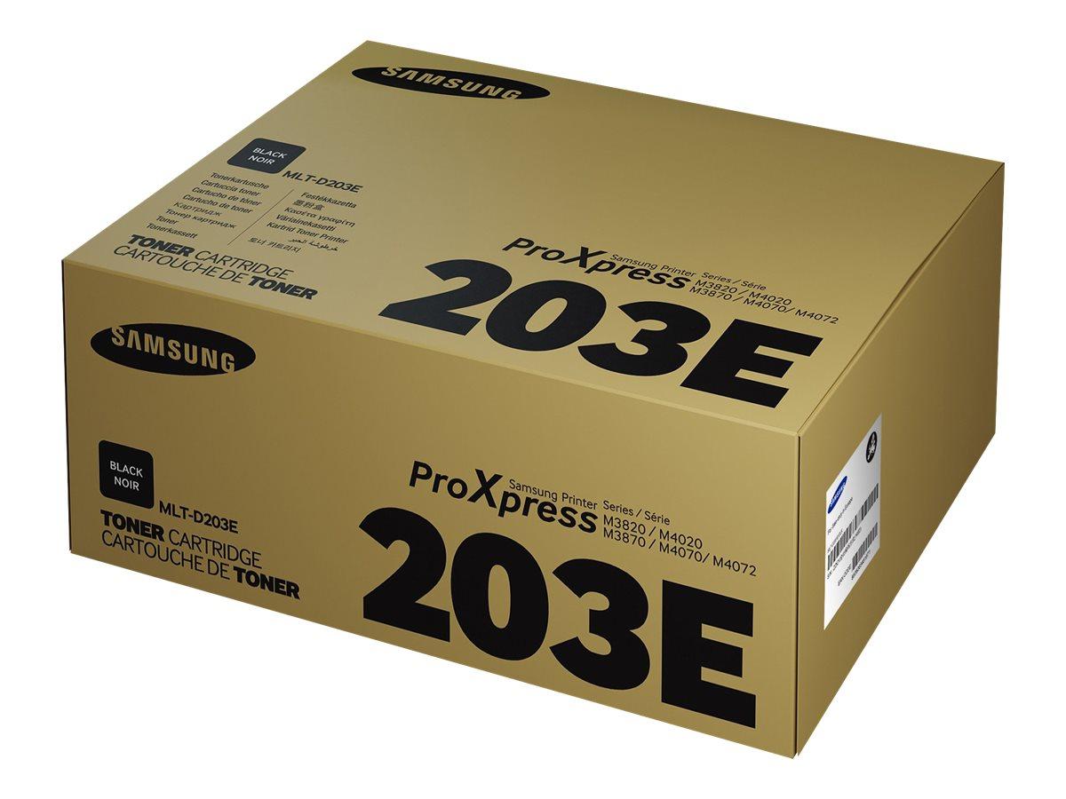 Samsung MLT-D203E - Extra High Yield - black - original - toner cartridge (SU890A)