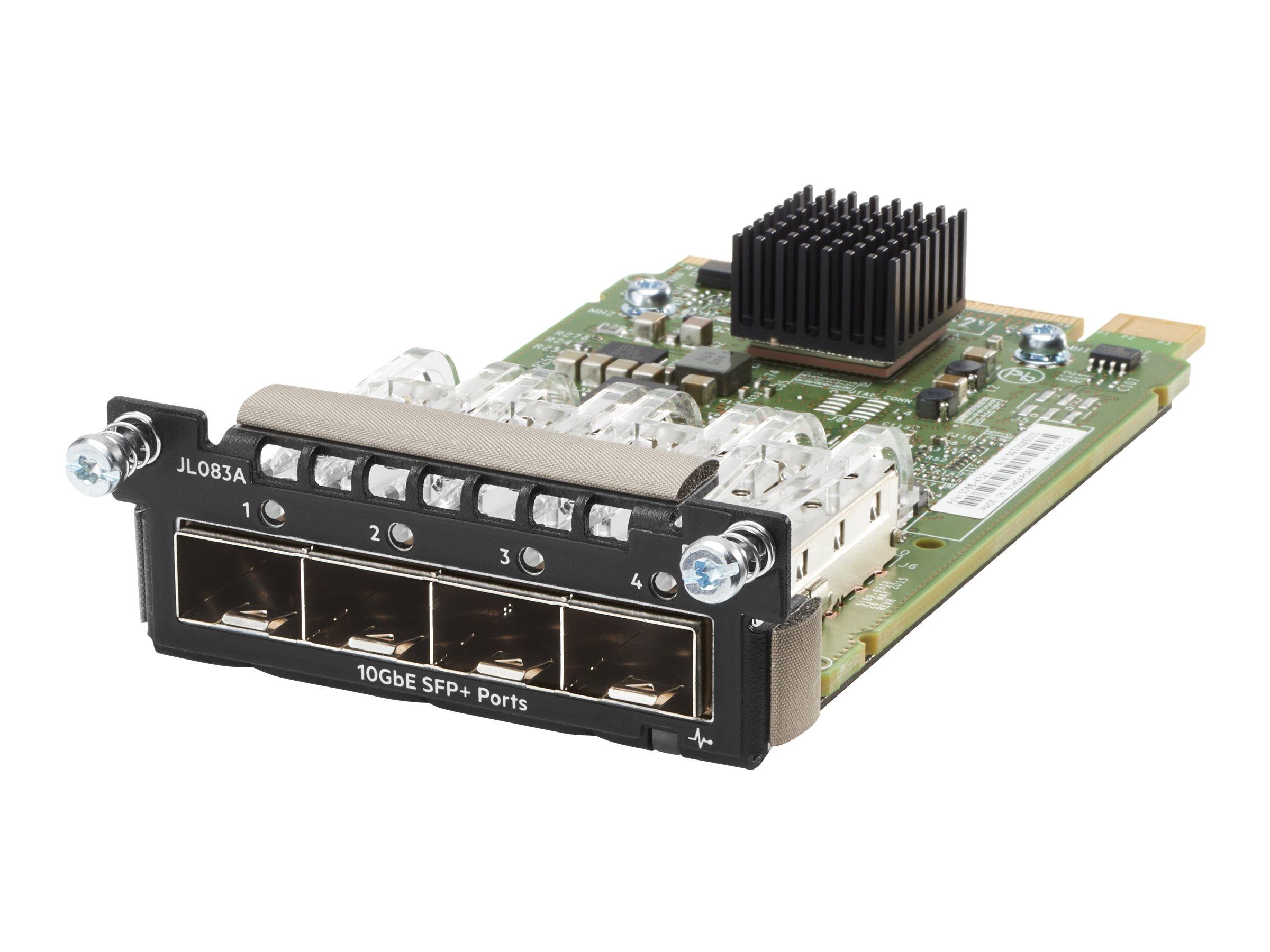 HPE Aruba - expansion module - 10 Gigabit SFP+ x 4