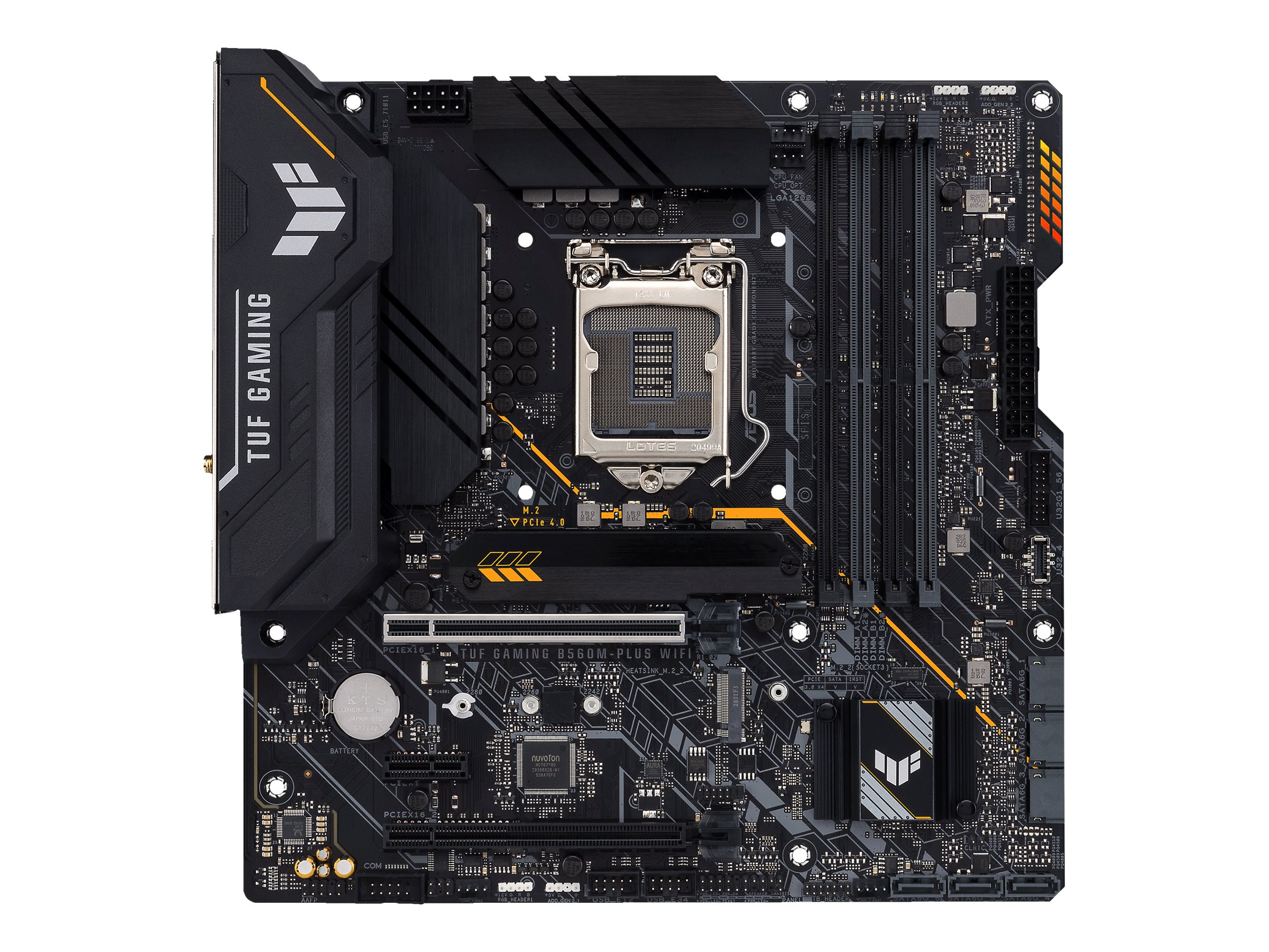 ASUS TUF GAMING B560M-PLUS WIFI - motherboard - micro ATX - LGA1200 Socket - B560