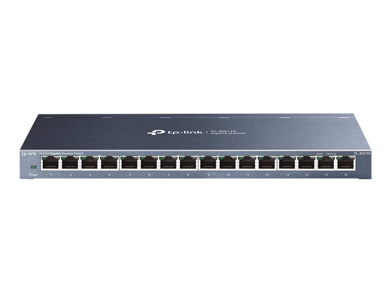 TP-Link TL-SG116 - switch - 16 ports
