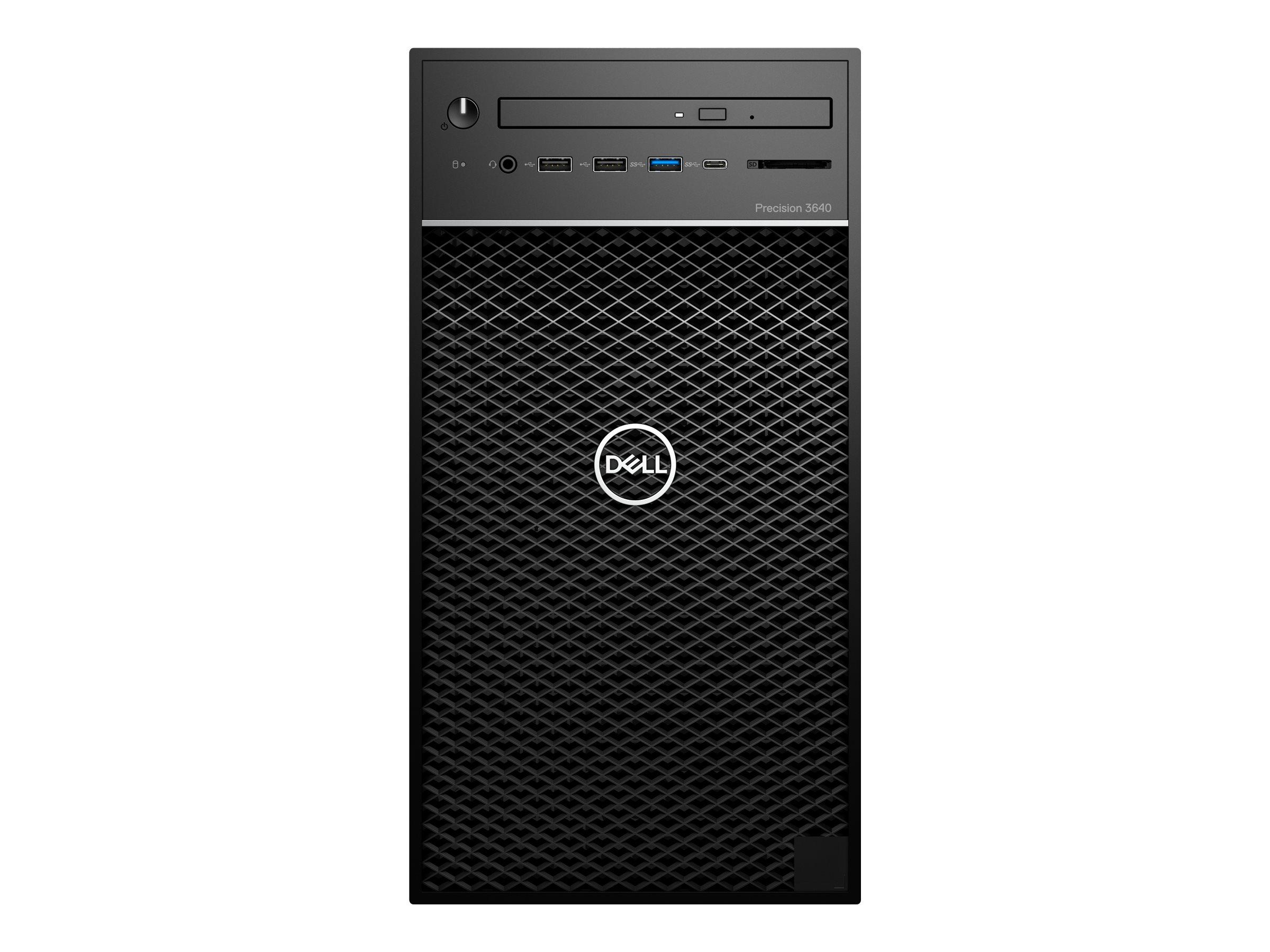 Dell Precision 3640 Tower - MT - Core i7 10700 2.9 GHz - 16 GB - SSD 512 GB