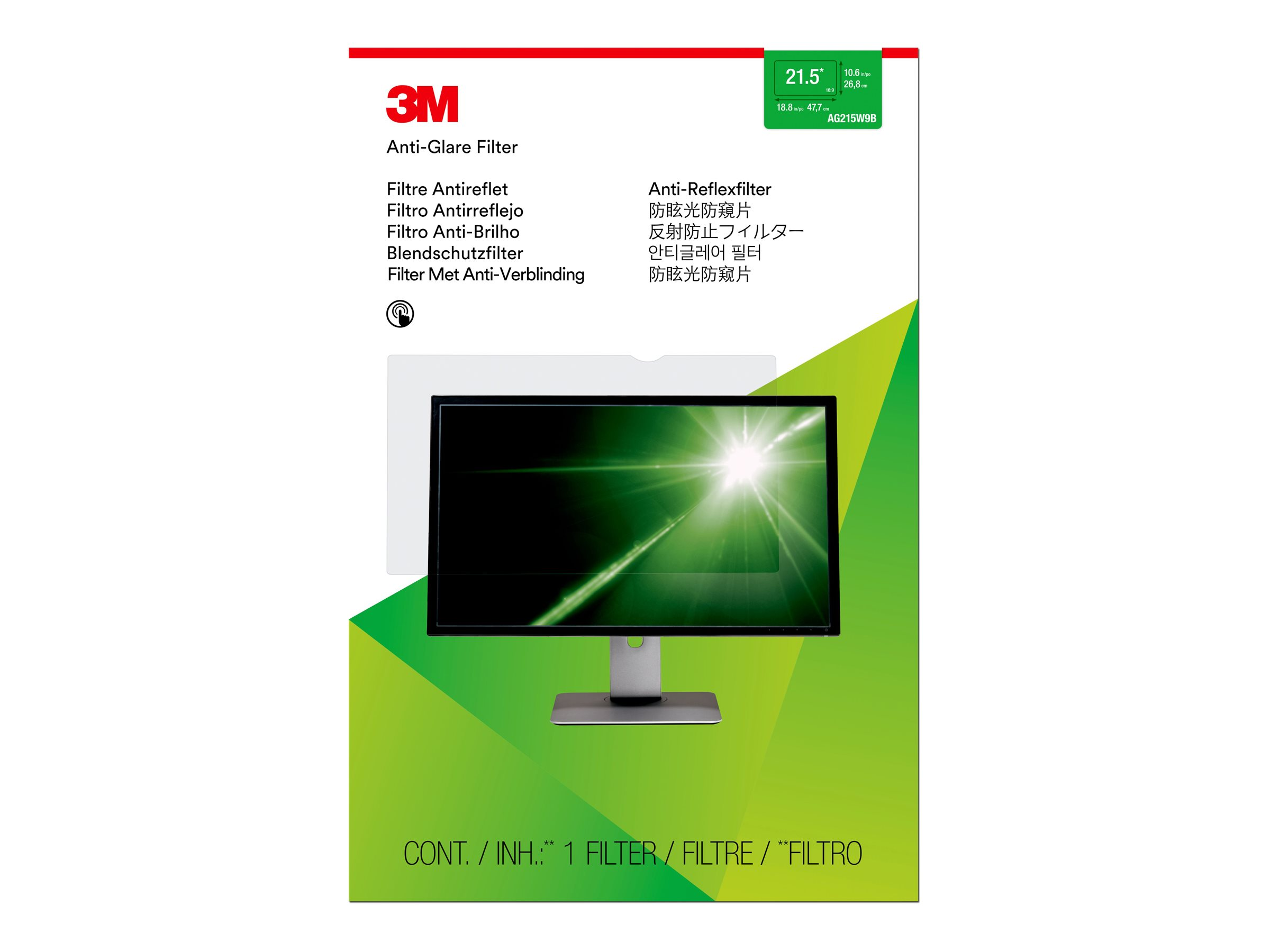 3M Anti-Glare Filter for 21.5