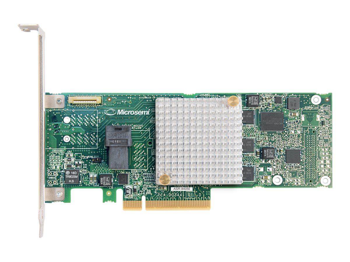 Microchip Adaptec RAID 8405E - storage controller (RAID) - SAS 12Gb/s - PCIe 3.0 x8