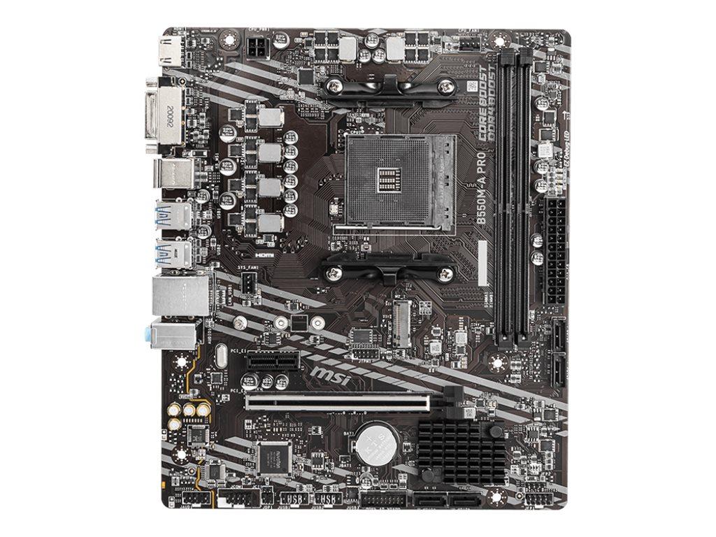 MSI B550M-A PRO - motherboard - micro ATX - Socket AM4 - AMD B550