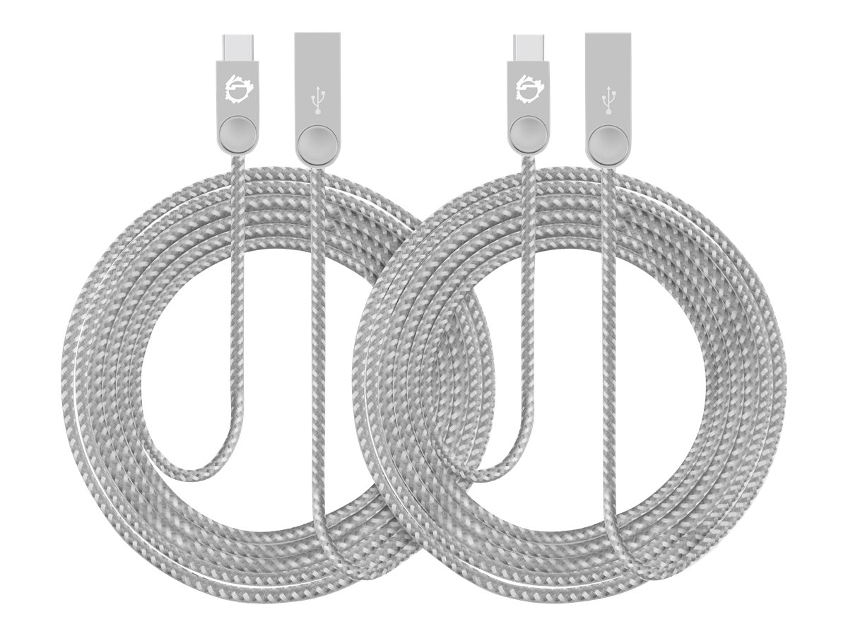 SIIG Zinc Alloy 2-Pack - USB-C cable