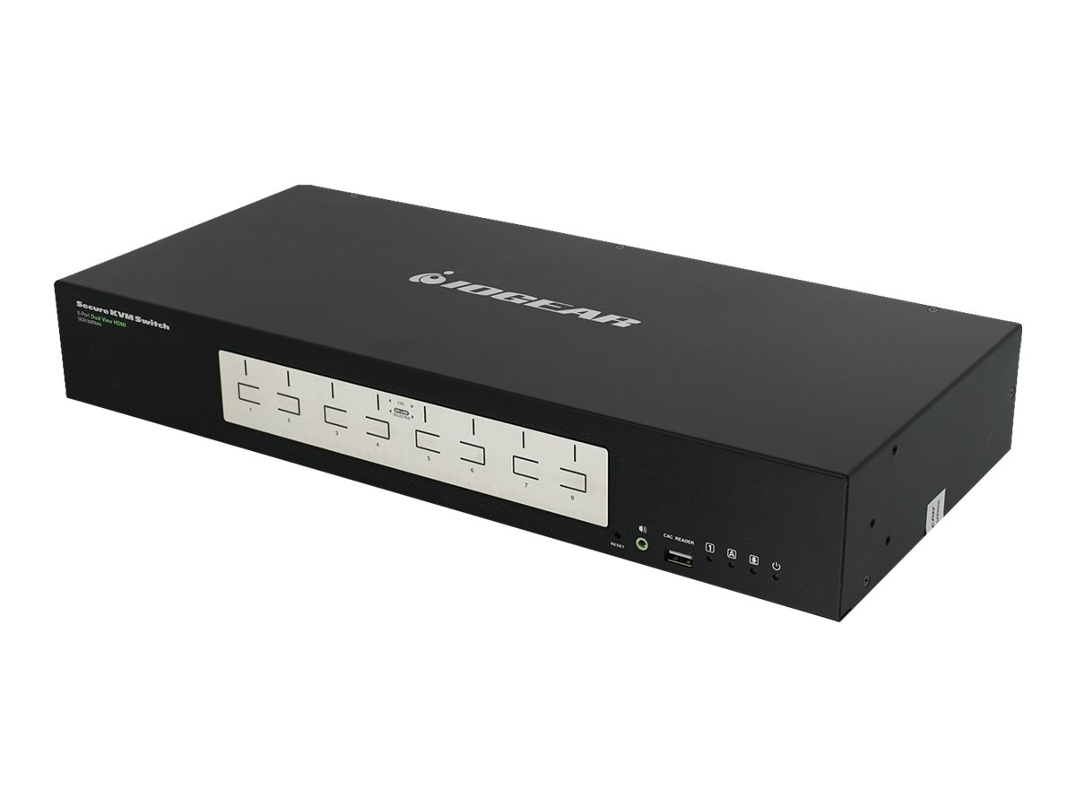IOGEAR Dual View HDMI Secure KVM series GCS1328TAA3 - KVM switch - 8 ports