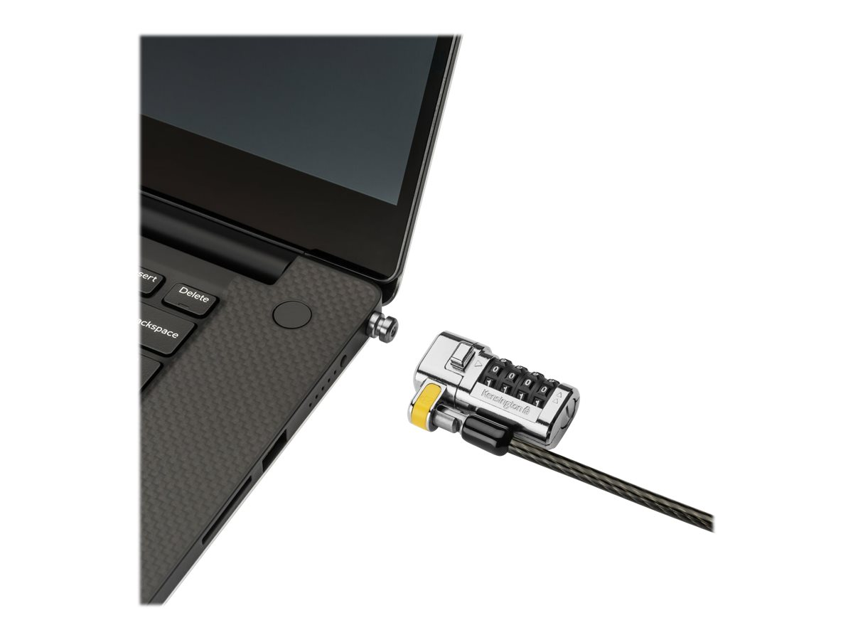 Kensington ClickSafe Universal Combination Laptop Lock security cable lock