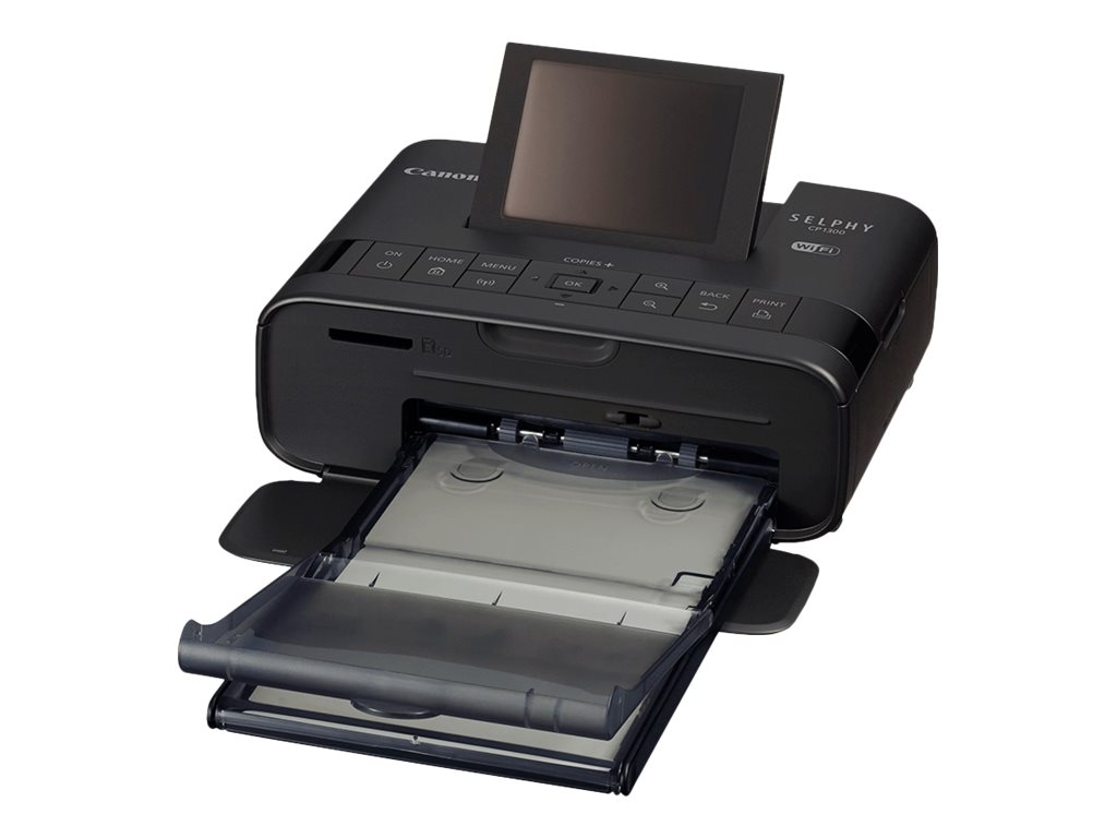 Canon SELPHY CP1300 - Battery Pack NB-CP2LH Bundle - printer - color - dye sublimation
