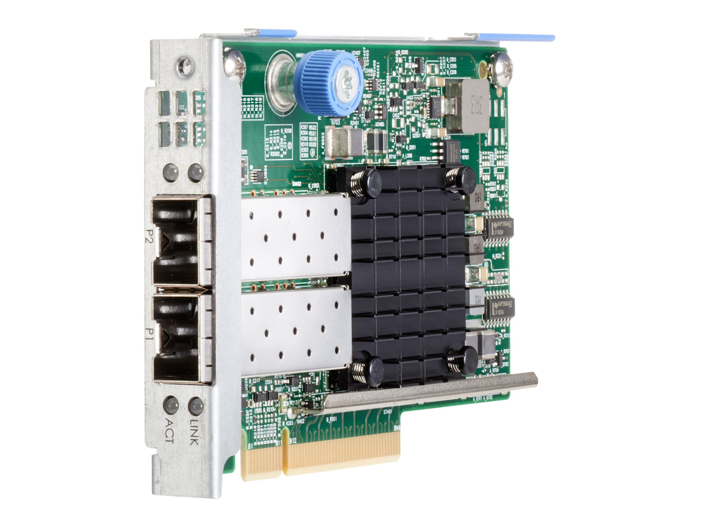 HPE 573SFP+ - network adapter - PCIe 3.0 x8 - 10 Gigabit SFP+ x 2