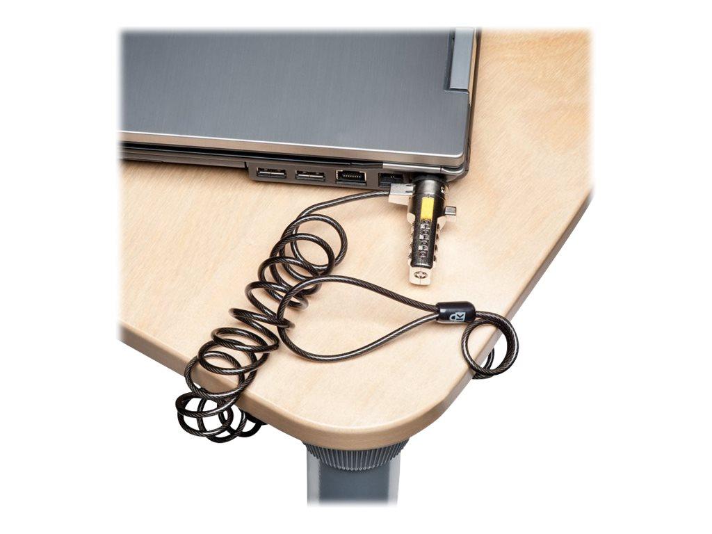 Kensington Portable Combination Laptop Lock security cable lock