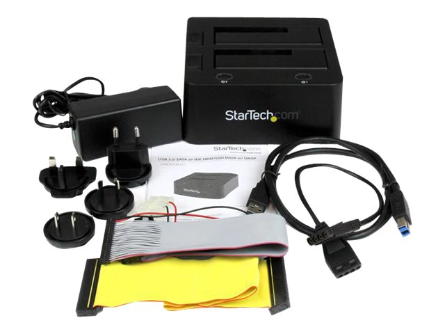 StarTech.com Universal Hard Drive Docking Station for SATA and IDE - USB 3.0 Dock for 2.5