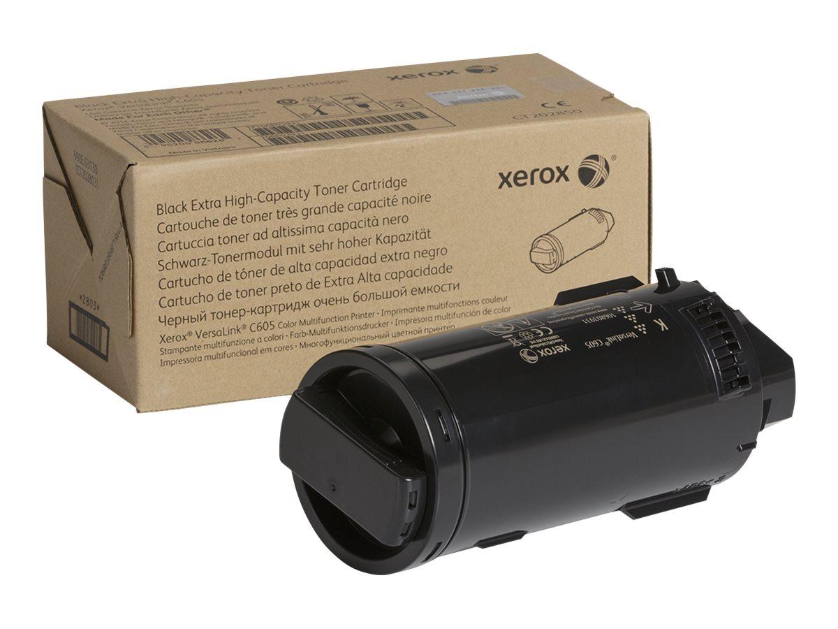 Xerox VersaLink C605 - Extra High Capacity - black - original - toner cartridge