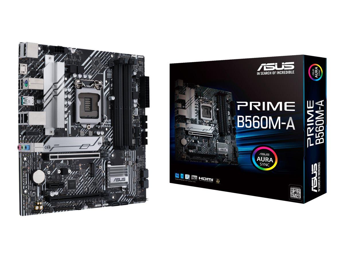 ASUS PRIME B560M-A - motherboard - micro ATX - LGA1200 Socket - B560