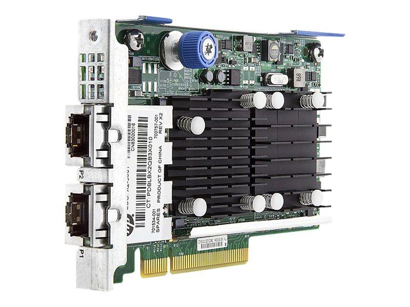 HPE FlexFabric 533FLR-T - network adapter - PCIe 2.0 x8 - 10Gb Ethernet x 2