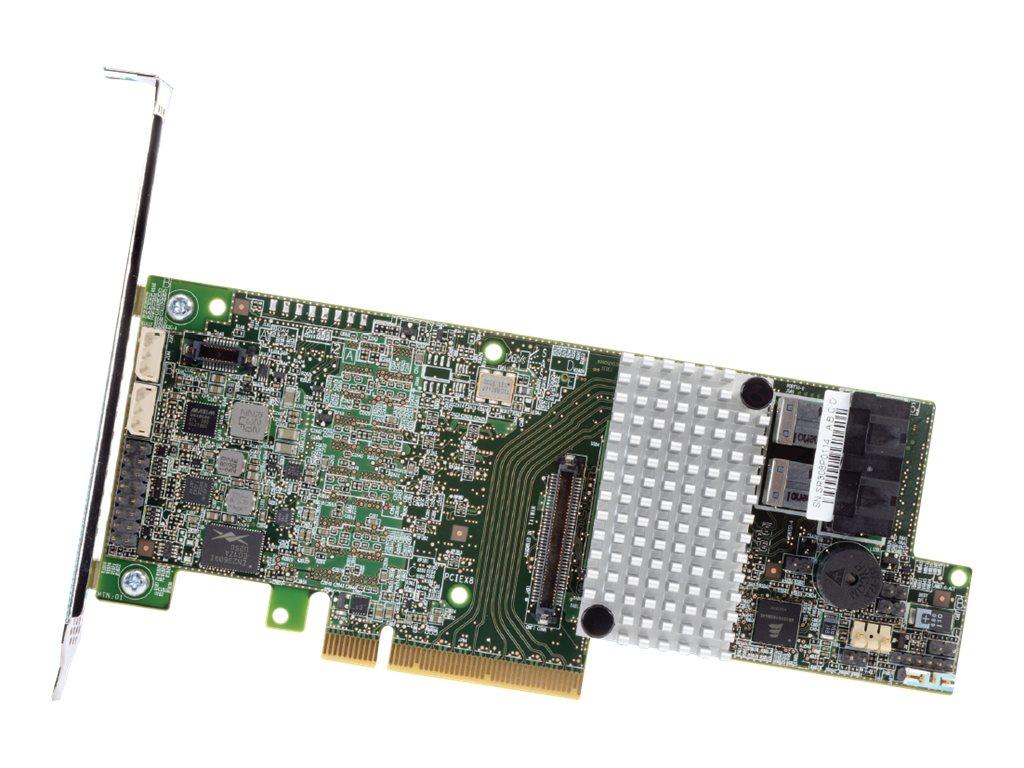Intel RAID Controller RS3DC080 - storage controller (RAID) - SATA 6Gb/s / SAS 12Gb/s - PCIe 3.0 x8