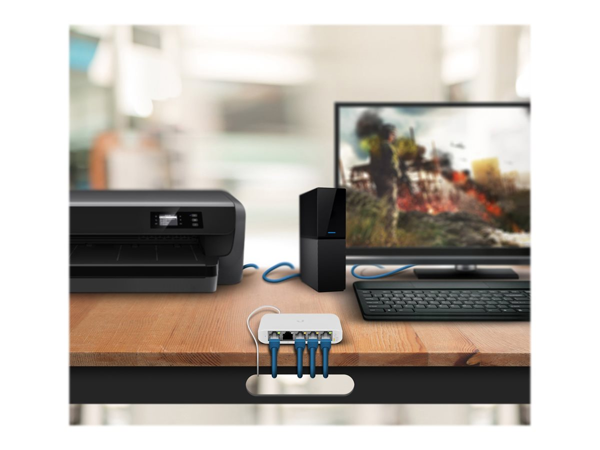 Ubiquiti UniFi Switch USW Flex Mini - switch - 5 ports - smart