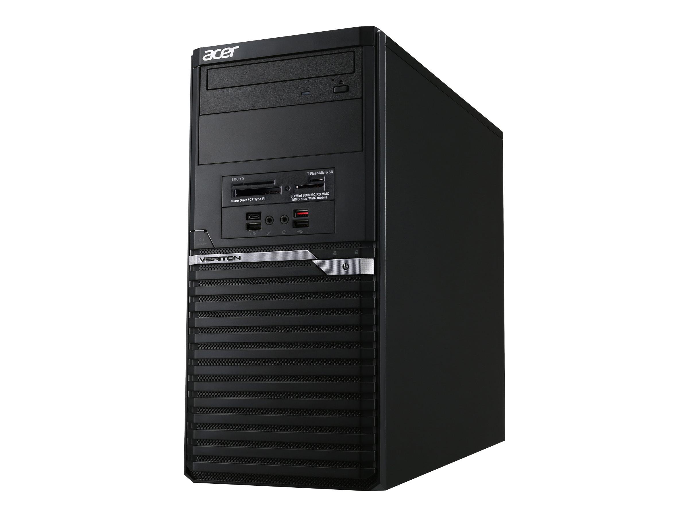 Acer Veriton M4 VM4660G-I3810H1 - MT - Core i3 8100 3.6 GHz - 4 GB - HDD 500 GB