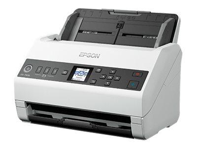 Epson DS-730N - document scanner - desktop - USB 2.0, Gigabit LAN