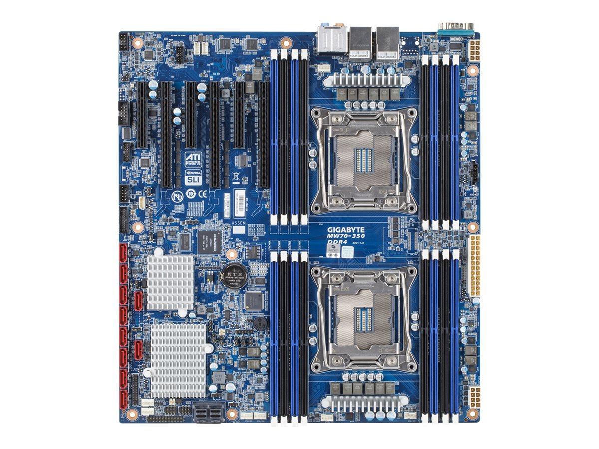 Gigabyte MW70-3S0 - 1.0 - motherboard - extended ATX / SSI EEB - LGA2011-v3 Socket - C612