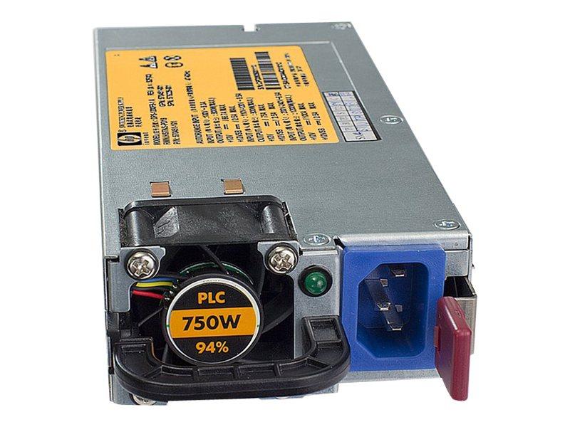 HPE - power supply - hot-plug - 750 Watt - 863 VA