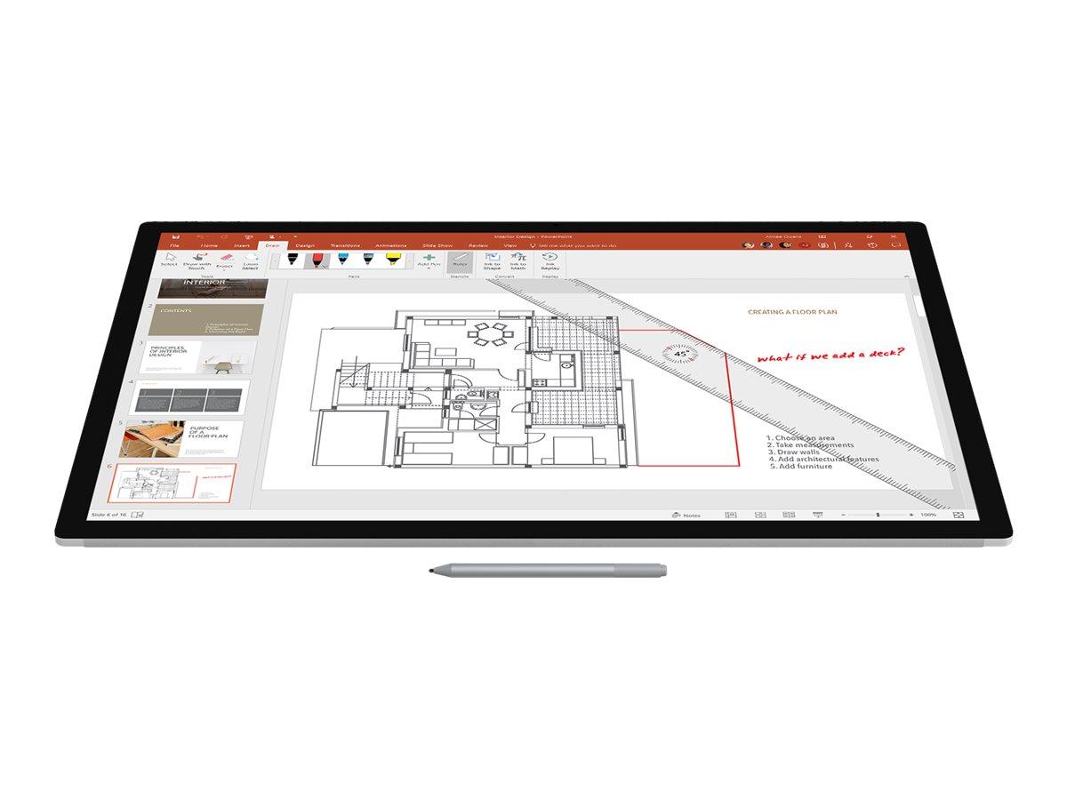 Microsoft Surface Pen M1776 - stylus - Bluetooth 4.0 - platinum