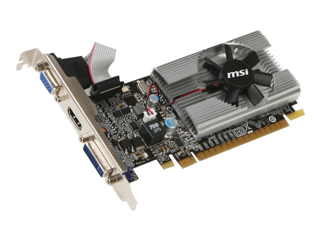 MSI N210-MD1G/D3 - graphics card - GF 210 - 1 GB
