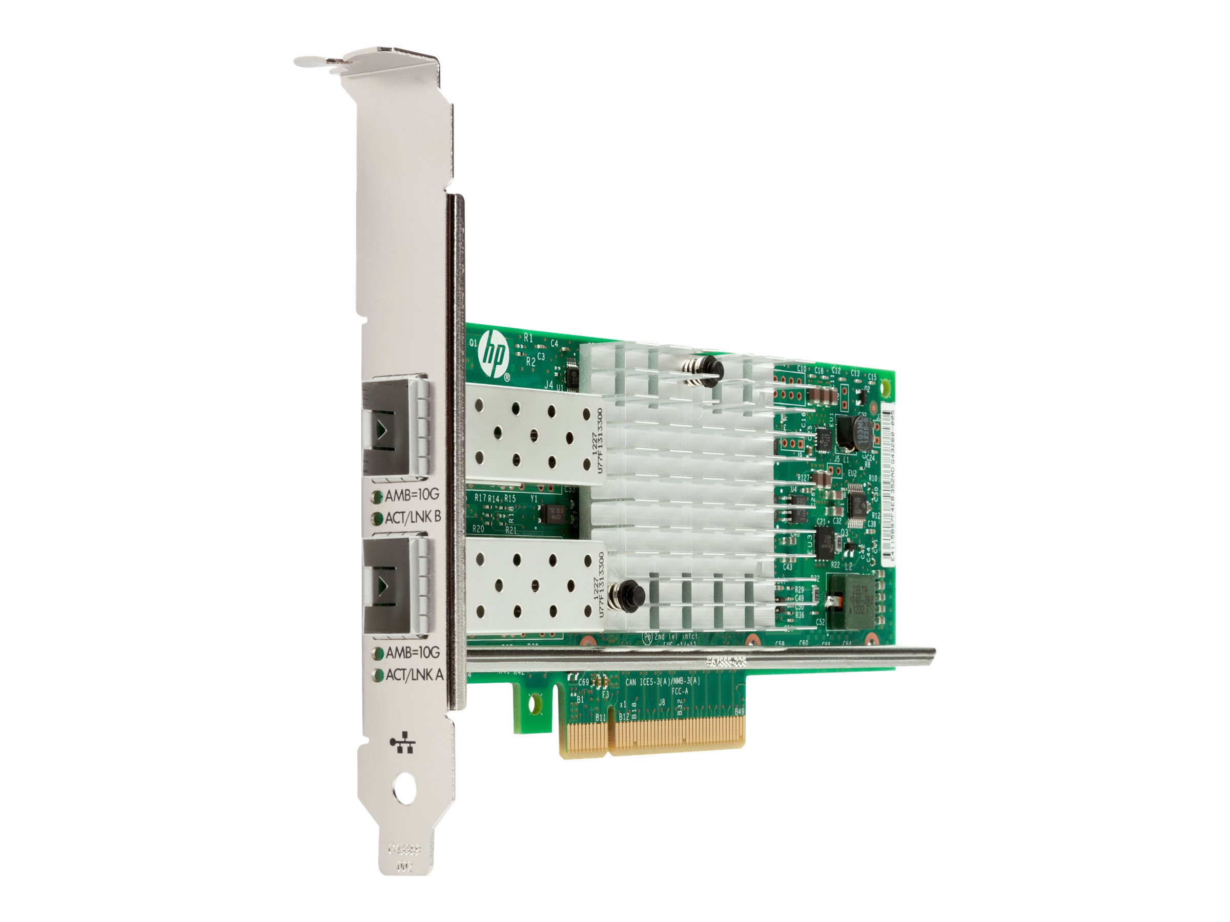 Intel X710-DA2 - network adapter - PCIe 3.0 x8 - 10 Gigabit SFP+ x 2