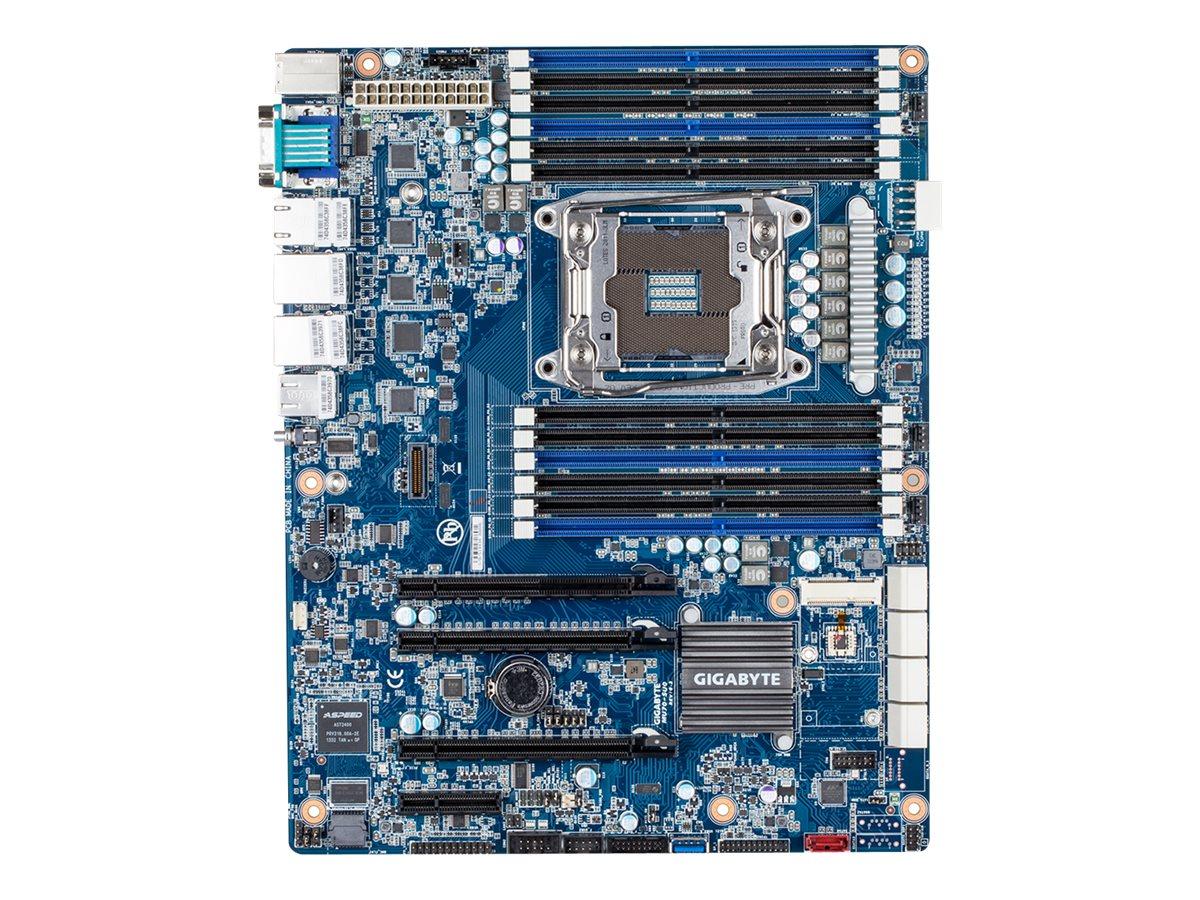 Gigabyte MU70-SU0 - 1.0 - motherboard - ATX - LGA2011-v3 Socket - C612