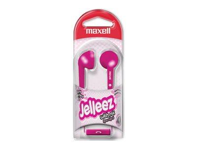 Maxell Jelleez - earphones with mic
