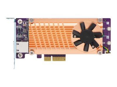 QNAP QM2-2S10G1TA - storage controller - SATA - PCIe 2.0 x4