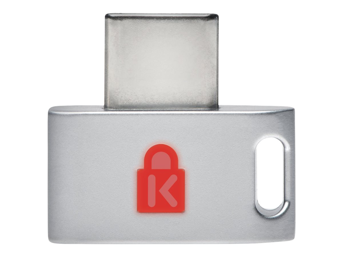 Kensington VeriMark Guard USB-C Fingerprint Key - FIDO2, WebAuthn/CTAP2, & FIDO U2F - Cross Platform fingerprint reader - USB-C