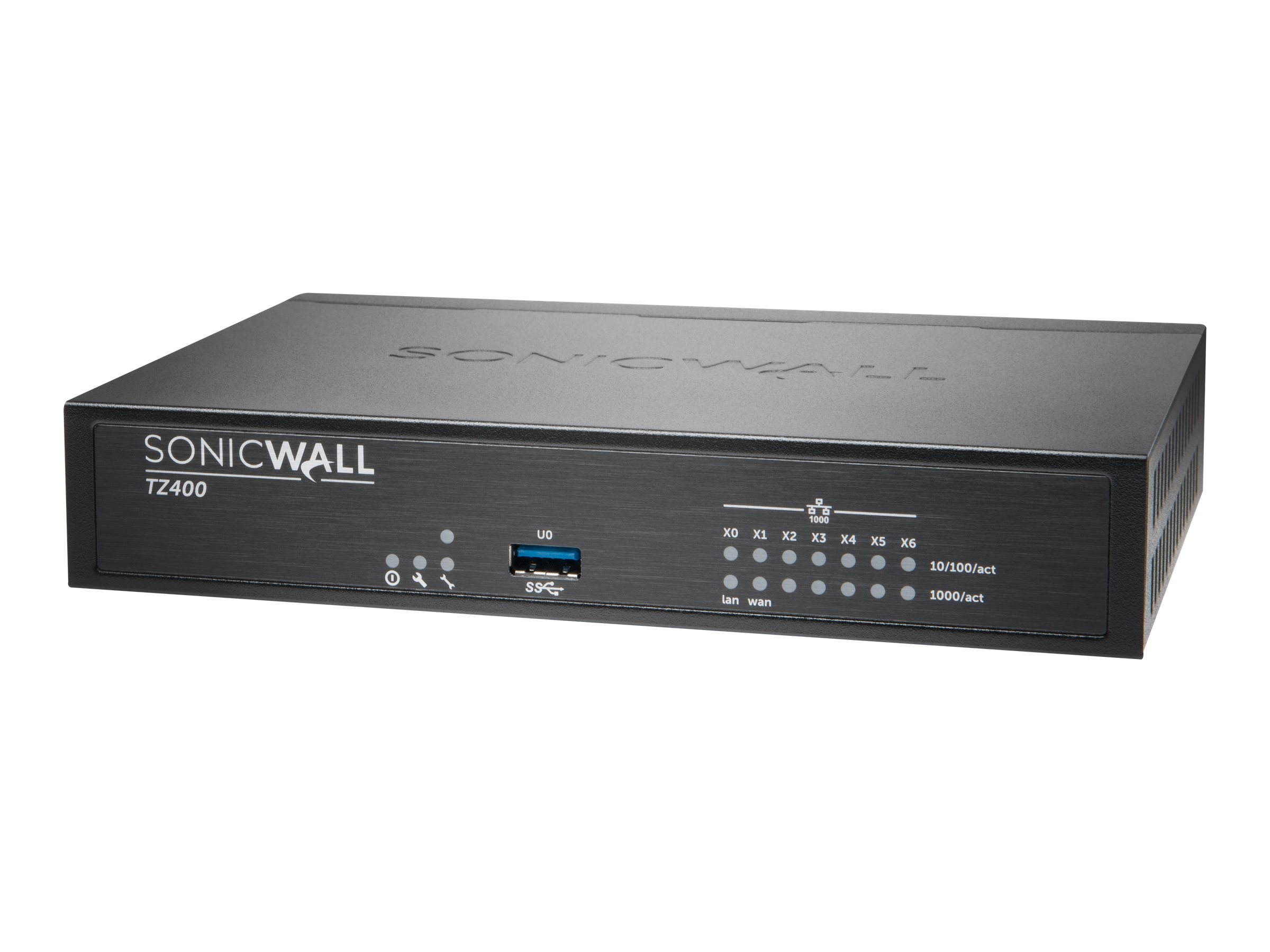 SonicWall TZ400 - Advanced Edition - security appliance - with 1 year TotalSecure