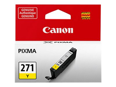 Canon CLI-271Y - yellow - original - ink tank