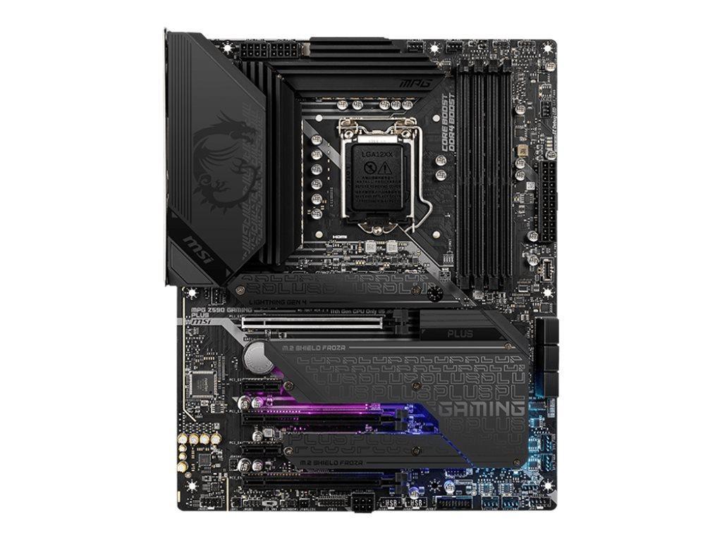 MSI MPG Z590 GAMING PLUS - motherboard - ATX - LGA1200 Socket - Z590