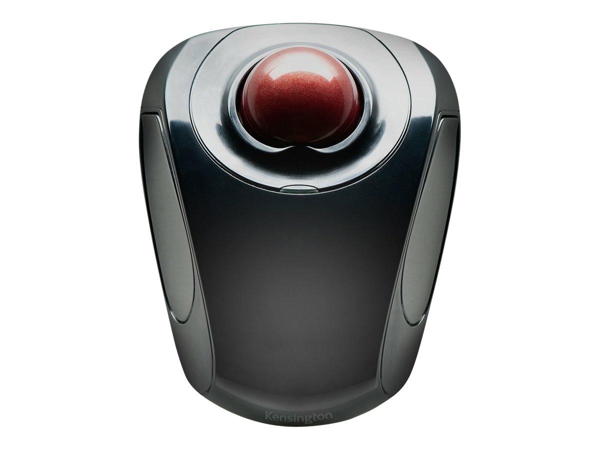 Kensington Orbit Wireless Mobile Trackball - trackball - 2.4 GHz - black