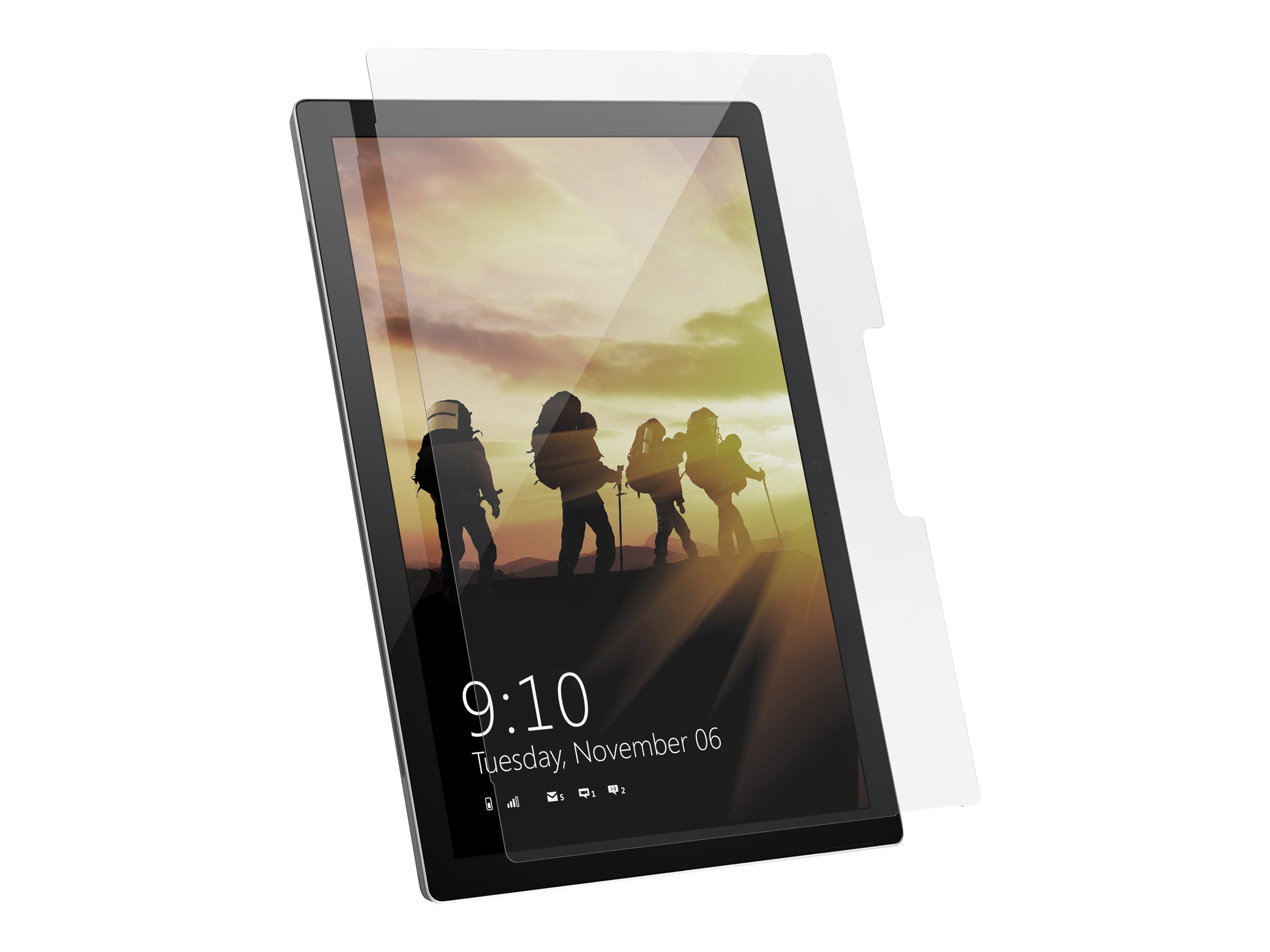 UAG Rugged Glass Screen Shield for Microsoft Surface Go 2 - Glass Clear - screen protector for tablet
